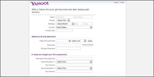 Yahoo Account 2