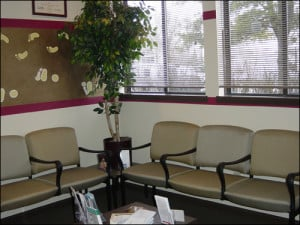 Waiting Room Columbus Foot Doctor