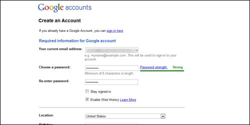Google Account 3