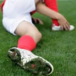 Soccer Player with Heel Pain