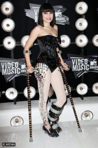 Jessie J Ankle Injury