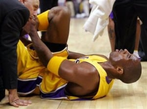 Kobe Bryants Ankle Injury