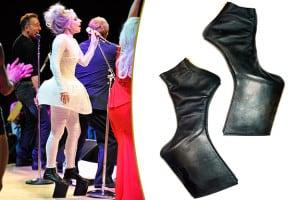 Lady Gaga And High Heel Shoes