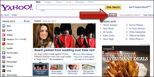 Yahoo Account 1