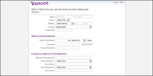Yahoo Account 2