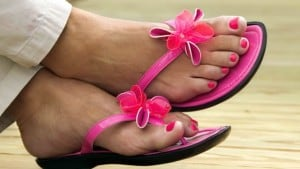 Fungal Nails and Girls Feet